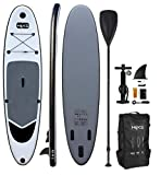 HIKS Grey 10.6ft/3.2m Stand Up Paddle SUP Board Set Inc Paddle, Pump, Backpack