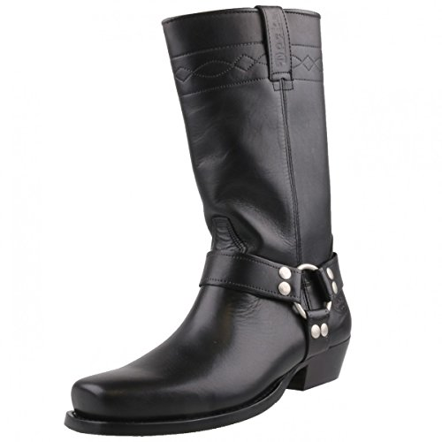 Dockers by Gerli Biker Boots 030140-002001 schwarz, Schuhgröße:EUR 43