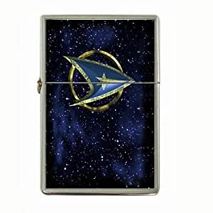 star-trek-v2 Flip Top Lighter and Case Box