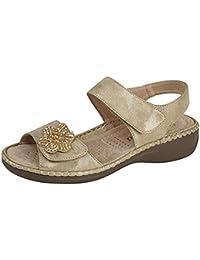 Boulevard - Zapatos con correa de tobillo mujer