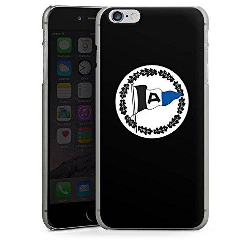 Apple iPhone X Silikon Hülle Case Schutzhülle Arminia Bielefeld Fanartikel DSC Bundesliga Hard Case anthrazit-klar