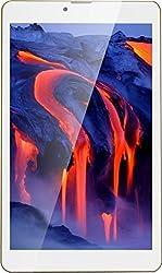 Swipe Slate (2 GB RAM) 32 GB 8 inch with Wi-Fi+3G Tablet (Gold)