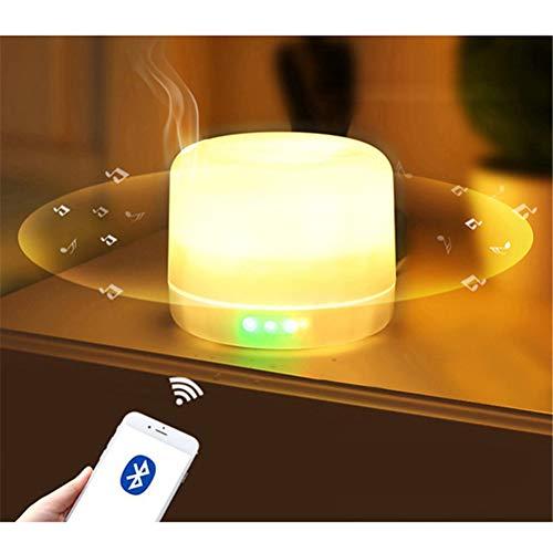 Jiahe Diffusore di Olio Essenziale 500ml con Altoparlante Senza Fili Bluetooth Air...