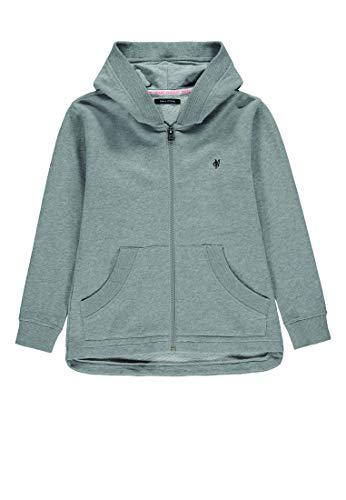 Marc O' Polo Kids Jungen Sweatshirt 1/1 Arm, Grau (Gray Violet/Gray 1210), 134/140