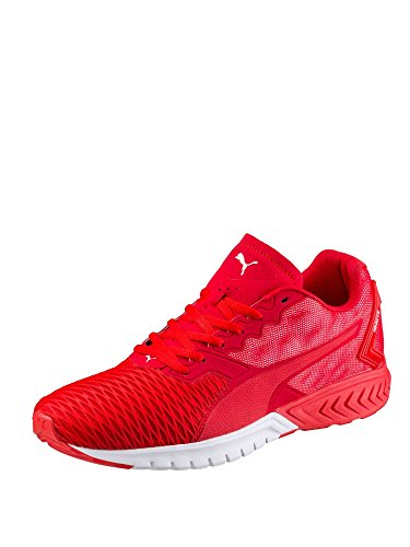 Puma Ignite Dual, Running Mixte Adulte Rouge