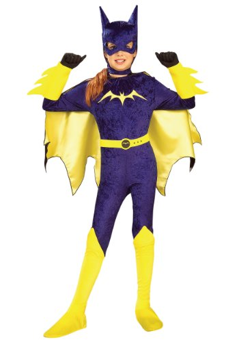 Batgirl Kostüm Gotham Girls - Gotham Mädchen Batgirl-Kostüm für Mädchen