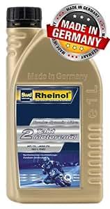 De 1 l à deux vollsynthetisches hochleistungsöl rheinol twoke synmix ultra moteur
