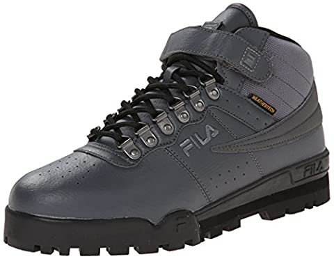 Fila Men's F-13 Weather Tech Hiking Boot, Castlerock/Black/Dark Silver, 10.5