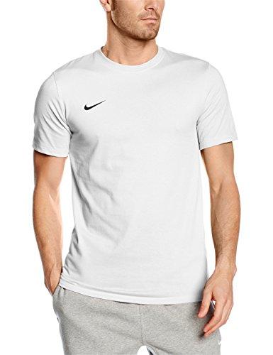 Nike t-shirt club blend, maglietta uomo, bianco (white/white/black), m