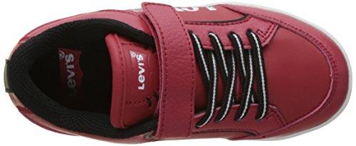 Chicago Flach Jungen Levi's Levi's Jungen Rot Velcro nxx6t