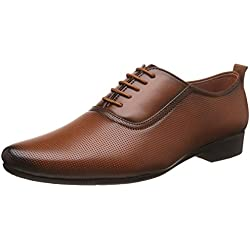 Auserio Men's Tan Formal Shoes - 9 UK/India (43 EU)(SS 906)