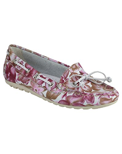 Riva Wells Flower Print Chaussures occasionnelles pink