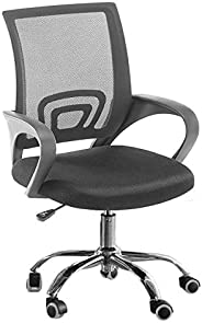 Home Office Gaming Computer Laptop Swivel Lift High Mesh Chair Ergonomic 360 Degree, Black