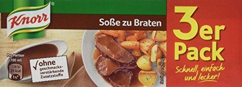 Preisvergleich Produktbild Knorr Braten Soße 3 x 250 ml,  10er-Pack