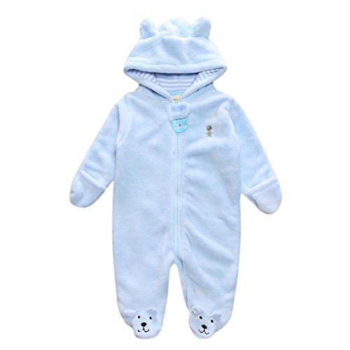 POLP Bebé Monos (◉ω◉ Recién Nacido Bebé Unisex Monos Oso Conjuntos para,Niño Niña 3—9meses Ropa Verano,Pijama Niños Mameluco Manga Larga Pantalones 1PC,Otoño y Invierno