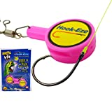 Hook-Eze Fishing Tool - Hook Tying & Safety Device + Line Cutter