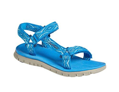 Karrimor Aruba 2, Chaussures de Randonnée Basses Femme Bleu (Blue)