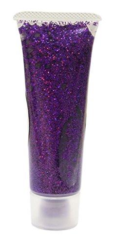 Eulenspiegel 907061 Effekt Glitzergel, lavendel juwel, 18 ml