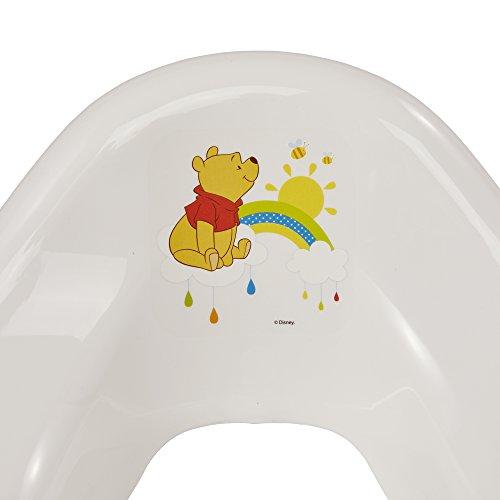 "keeeper ""winnie the pooh"" kinder-toilettensitz mit anti-rutsch-funktion weiß - 3"