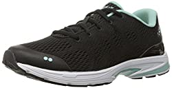 RYKA Womens Revere Walking Shoe, Black/Mint, 7 W US