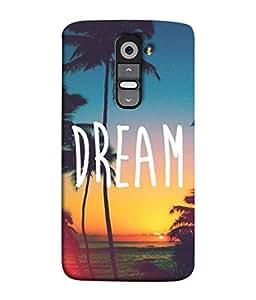 PrintVisa Designer Back Case Cover for LG G3 Mini (Sea Beach Water Sand Green Sky Cloud)