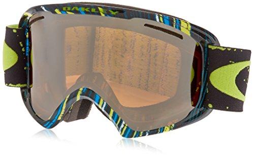Oakley Erwachsene Snowboardbrille O2 XL Stumped Lime Blue/Black Iridium, one size