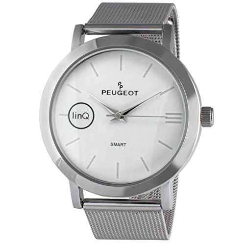 Peugeot linQ Stainless Steel Mesh Bluetooth Smart Connected to Mobile Phone Watch Lg-handy Von Verizon