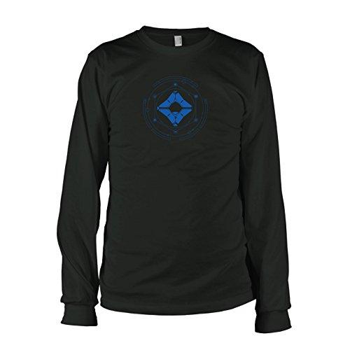 TEXLAB - Geist und Wächter - Langarm T-Shirt Schwarz