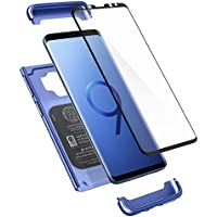 Spigen Thin Fit 360 Cover Blu