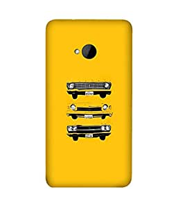 Lost Car HTC One M7 Case