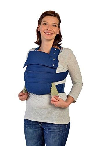 Marsupi Compact– frontal y cadera Baby Carrier Color Azul Océano