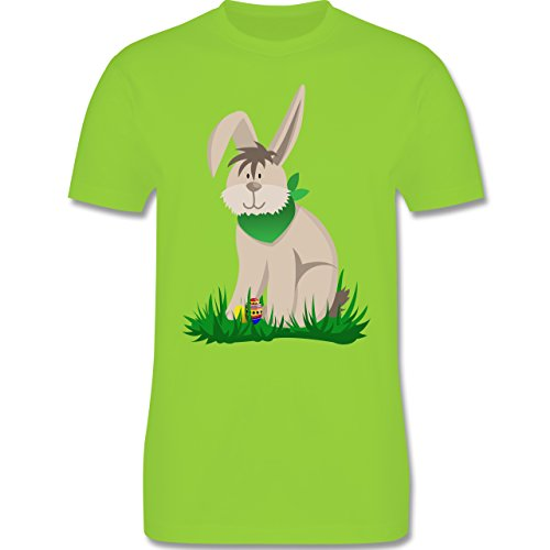 Ostern - Osterhase - Herren Premium T-Shirt Hellgrün