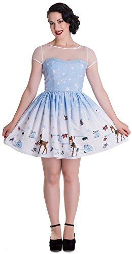 Hell Bunny Kleid NEVARA MINI DRESS 4502 Blue