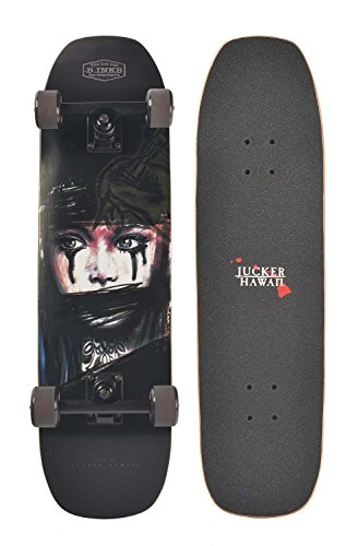 JUCKER HAWAII Skateboard / Cruiser B.INKS komplett -