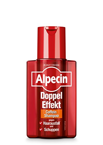 Alpecin Doppel-Effekt Coffein-Shampoo, 1 x 200 ml - Gegen erblich bedingten Haarausfall und Schuppen