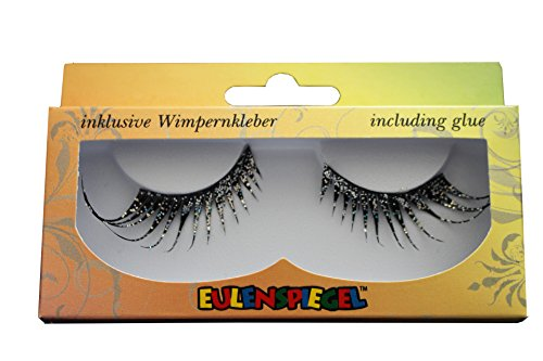Eulenspiegel Profi-Schminkfarben Wimpern Cabaret, multi, 1er Pack (1 x 2 (Halloween Up Make Auge Schwarz)