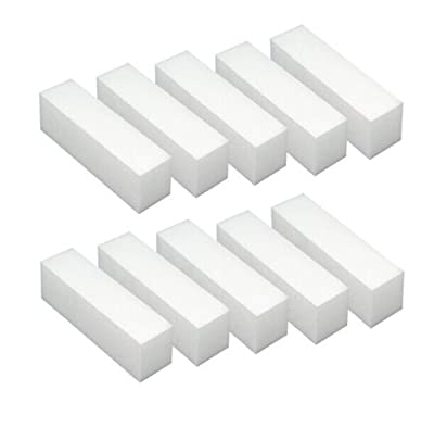 Nail File Acrylic/FEIL Block, Manicure, White