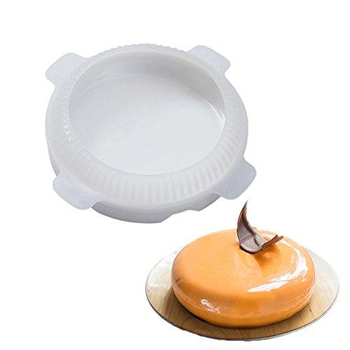 AAC Molde de silicona redondo para tartas