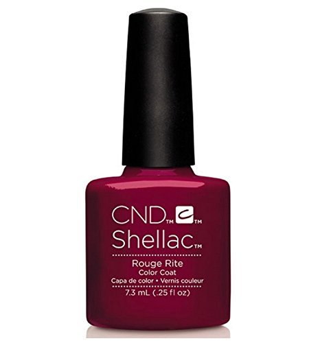 CND Shellac UV Gel Polish - Contradictions - Spring 2015 Collection - 0.25oz_ROUGE RITE - C90877 **BCS_BW** by CND Cosmetics
