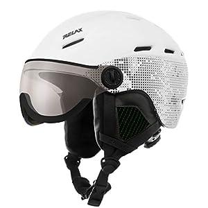 Relax Skihelm Prevail mit Visier | Snowboardhelm | Skihelmet | Race-Helm für Damen und Herren