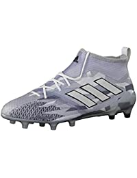 adidas Ace 15,1 Court Base Ball Scarpa Uomo, Grigio (Dark Grey/Grey/Flash verde s15), 46 2/3
