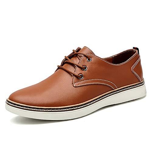 HILOTU Hombres Oxfords Zapatos Vestir De Negocios