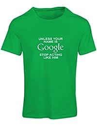 lepni.me N4080F Camiseta Mujer I Dont Need Google, my