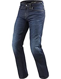 FPJ031 - 6371-34 - Rev It Philly 2 LF Dark Blue Motorcycle Jeans (L34) (W34)