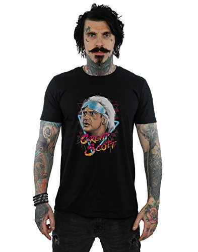 Men's Great Scott T-Shirt, Black