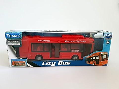 Bus urbain, 30cm - Véhicule voiture auto de jeu miniature modèle À L