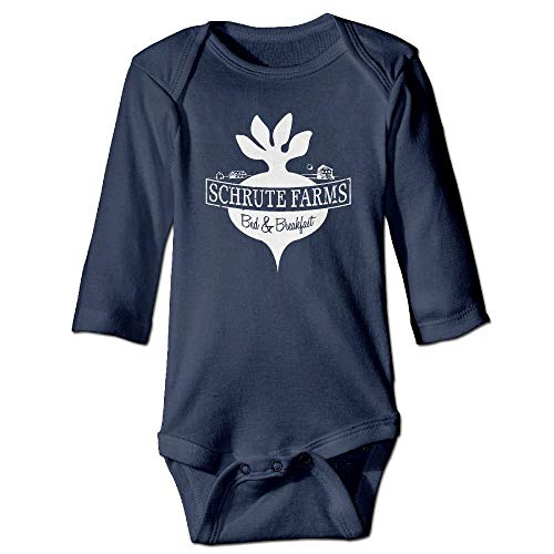 Kostüm Boy Farm - dsfsa Babybekleidung Schrute Farms Beets Funny Baby Bodysuit Clothes for Boys and Girls Newborn Baby