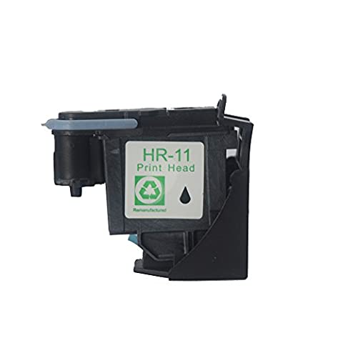 Caidi 1x Black HP11 remanufactured print head for HP 11 C4810A C4811A C4812A C4813A Printhead for use with HP Business Inkjet 2200, 2250, 2280, 2600, 2800 HP Designjet 110nr, Designjet 10ps, 20ps, 50ps, 500 800