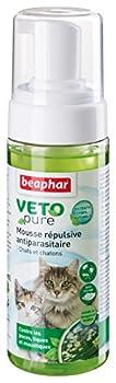 Beaphar - VETOpure, mousse répulsive antiparasitaire - chat et chaton - 150 ml