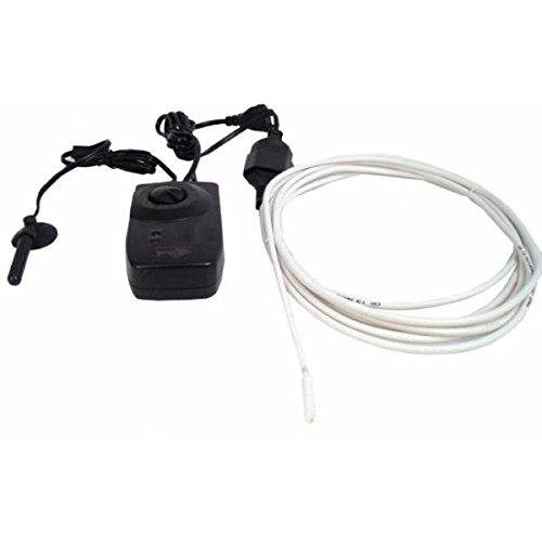 Resistenza stagna riscaldante 4,5m 25W + termostato - Mini Serre e Terrari